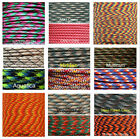 550 Paracord Parachute Cord Lanyard Mil Spec Type III 7 Strand Core100FT New XC
