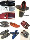 Mens Driving Casual Shoes Moccasins Leather Loafers Slip On Payne03