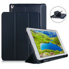 """For Apple 9.7"""" 5/6 Air2 iPad 2018 Stand PU Leather Protective Pen Card slot USB"""