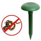 Eco-Friendly Solar Power Gopher Mole Snake Mouse Pest Reject Repeller new