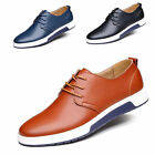 LOT Plus Size Men Business Casual Dress Formal Leather Shoe Work Round Toe Shoes