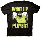 what is 1080p upscaling dvd player - The Hangover Part III Men's What Up Player T-Shirt