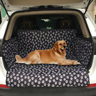 Pet Dog Car Back Seat Cover Cat Paw Print Waterproof Mat Auto Rear Protect Pad