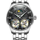 Tourbillon Automatic Mechanical Wrist Watches Mens Swiss Luxury Sapphire CrystalWristwatches - 31387