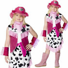Kids Cowgirl Costume Fancy Dress Outfit