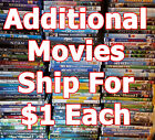 Disney - Dreamworks Kids / Family DVD movies. List-3 Combine Shipping & Save $$