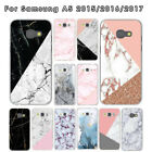 For Samsung Galaxy A5 2015 2016 2017 marble Pattern phone case cover Shockproof for sale  Shipping to Canada