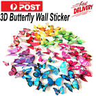 12pcs 3d Diy Wall Decal Stickers Butterfly Home Room Art Decor Decorations 12pcs
