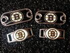 2 ~ Boston Bruins NHL Charms Oval or Mini Dog Tag shoelace charms $9.99 USD on eBay