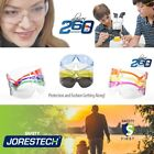 12 144 PAIR JORESTECH UV LENS LOT SAFETY GLASSES BULK NEW VARIETY COLORS