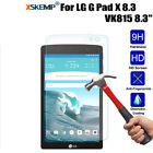 Real Tempered Glass Screen Protector For LG G PAD/G PAD 2/ G PAD3/G pad f Tablet