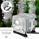 Electromagnetic Air Compressor Aquarium Oxygen Pump Pond Pool Fish Tank Supply