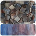"100 1/2"" Mosaic Tiles Stained Glass & 1/4"" Border Strips & 1"" Diamonds & Mirror"