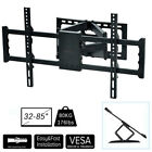 sony 4k 84 inch - Tilting & Swivel Full Motion Two Articulating Arm TV Wall Mount 700x400mm 176lbs