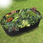 Grow Bag Fabric Raised Planting Bed Window Box Home Garden Plant Care Pot 1pc