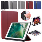 Slim Magnetic Leather Smart Stand Cover Pencil For Apple iPad 9.7 5/6 10.5 inch