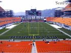 (3) Steelers vs Patriots Tickets Lower Level Close to the Aisle!!