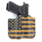 OWB Kydex Holster for 50+ Hanguns with STREAMLIGHT TLR-1 - USA COYOTE