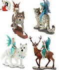 NEMESIS NOW COMPANION FAIRY collection FANTASY FAIRIES wolf FIGURINE ORNAMENT