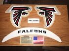 ATLANTA Falcons with SPEED FLEX  F/S-XL CURRENT HELMET DECALS with EXTRAS. on eBay