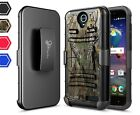 For ZTE Avid 916/ZTE Grand X3 NageBee® Rugged Armor Belt Clip Holster Case Cover