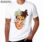 Xxxtentacion Character Print T-Shirt Fashion Casual Fitness Cool O-neck Men's T