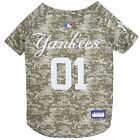 New Dog Jersey New York Yankees Pet Camo Jersey MLBPA Pet Apparel XS-XL