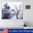 Modern Red Bird Tree Canvas Oil Printed Paintings Home Wall Art Decor Unframed