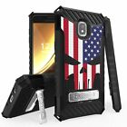 For Galaxy J3 Star / Orbit / Aura / Sol 3 J337 Armor Case Punisher Spartan