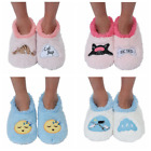 Slumbies Women Classic Fluffy Fur Sleepy Non-Slip Slipper Soft Socks Family Gift