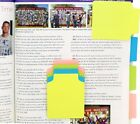 4A Super Sticky Notes Divider Index Tabs Office Supplies Total 60 Sheets