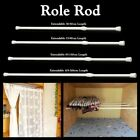 curtain rails - Hot Spring Loaded Extendable Telescopic Net Voile Tension Curtain Rail Pole Rods