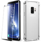 samsung galaxy note 4 no contract price - Galaxy S9 Plus S9+ Case | YELLOW-PRICE Slim Clear Shockproof Wireless Charging