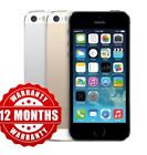 Apple iPhone 5s 16GB - Unlocked SIM  Smartphone - Gold/Silver/Grey WARRANTY