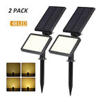 Внешний вид - 2Pack 48LED Solar Spotlight Outdoor Waterproof Garden Landscape Lights Lawn Lamp