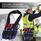 Electrician Waist Pocket Tools Belt Pouch Bag Screwdriver Kit Holder Tool Bag LJ