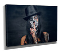 Extra Large Canvas Print Picture Wall Art Day Of The Dead Woman