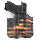 OWB Kydex Holster for 50+ Hanguns with OLIGHT PL-1 II VALKYRIE - USA DARK