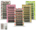 7 Tier Canvas Shoe Rack Storage Solution Organiser Rack Holds upto 21 Pairs New