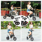 "New Foldable 12"" Electric Bike 36V 350W Electric Bicycle Ebike-US Free Shipping"