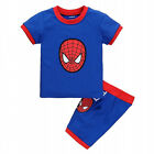 2PCS Kids Boys Short Sleeve T-shirt + Shorts Pants Casual Outfits Clothes 2-8Y