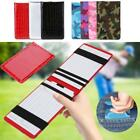 Portable Golf Scorecard Holder Yardage Score Card Holder Notebook Accessory LJ