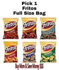 spicy fritos - New Full Size Fritos 9.25 oz Bag Pick any Flavor: Chili Cheese, Ranch
