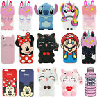 3d Cartoon Silicone Rubber Kids Case Cover For Ipod Touch 5/6 Iphone 5 Se 6 7 8