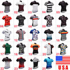 2018 Cycling Mens Bike Riding Apparel Race Short Sleeve Shirts Race Fit Jersey