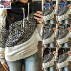 Summer Women's Oversized Short Sleeve V Neck T Shirt Tees Bl