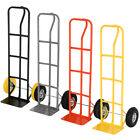 600LB HEAVY DUTY SACK TRUCK INDUSTRIAL HAND TROLLEY WITH PNEUMATIC TYRE / SOLID