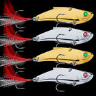 10pc/lot Spoon Metal Fishing Lures 14g 21g 28g 35g Hard Fishing Bait Gold Silver