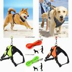 No Pull Adjustable Pet Vest Strap Harness Nylon Small/Medium/Large/XL Dog Collar