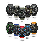 SMAEL Digital Waterproof Men's Sports Watches G-SHOCK Military Analog Quartz Gif